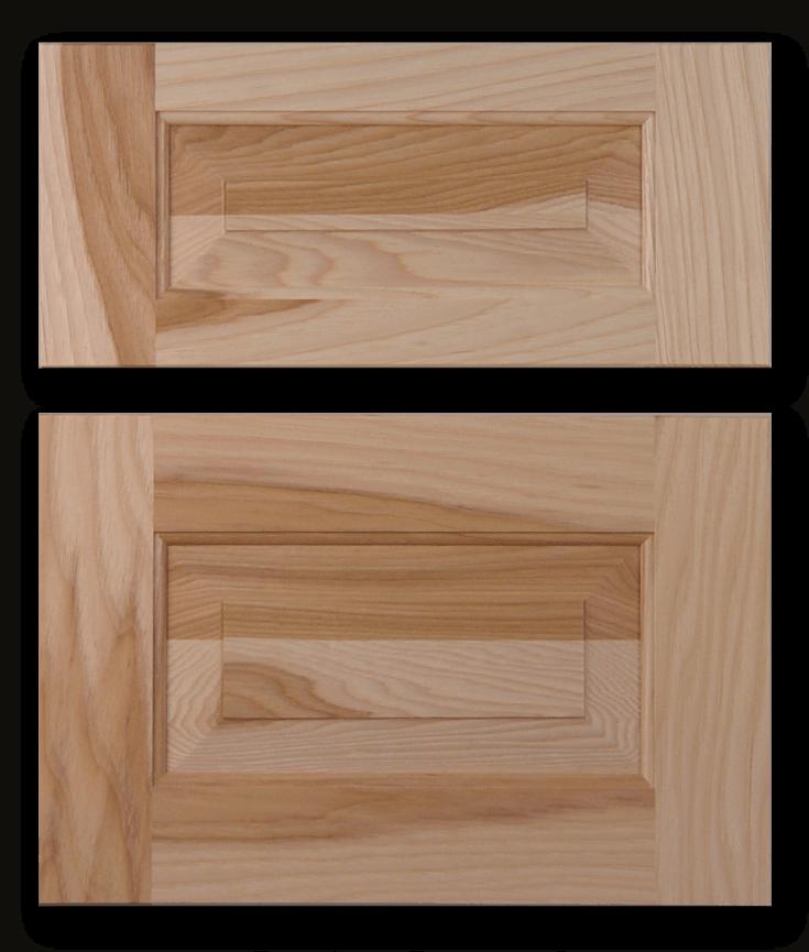 raised panel drawer front