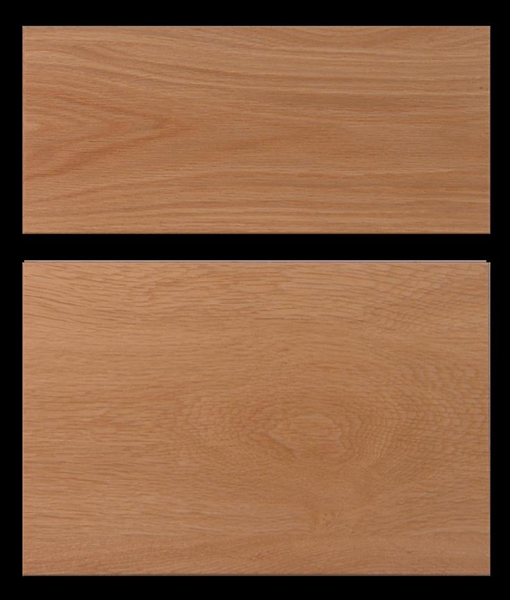 Slab drawer front